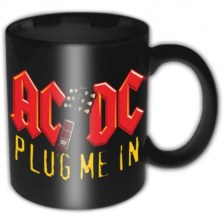 AC/DC Boxed Mug: Plug me in