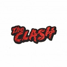 The Clash Logo Woven Iron On Embroidered Patch