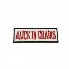 Alice in Chains Logo Woven Iron On Embroidered Patch