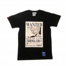 One Piece- Roronoa Zoro Wanted Poster T-Shirt