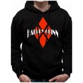 Φούτερ Harley Quinn με κουκούλα - Diamond Logo Hoodie
