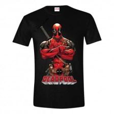 Deadpool - Deadpool Pose T-shirt - Black