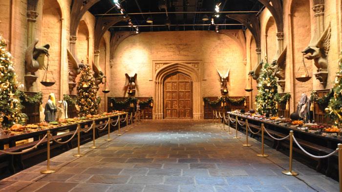 Cómo-visitar-estudios-Harry-Potter-comedor