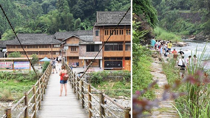 Cómo-visitar-arrozales-Longji-pueblo-1