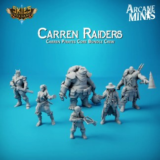 Carren Raiders - Core Crew