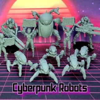 Cyberpunk Robots