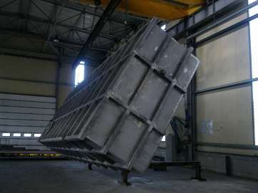 Sangalli, Steel structures for furnaces
