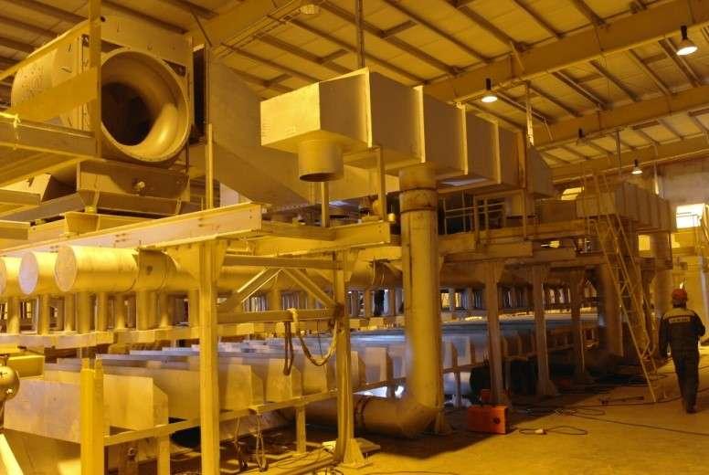 Gelt S.A., Strutture in acciaio per fornace (Russia)