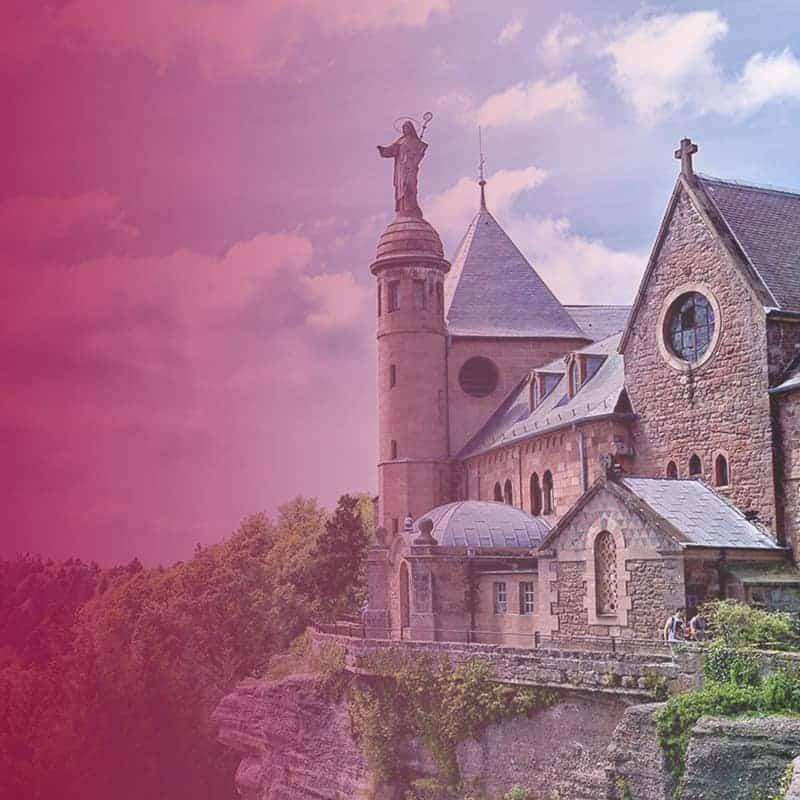 Mont Sainte Odile lieu de priere