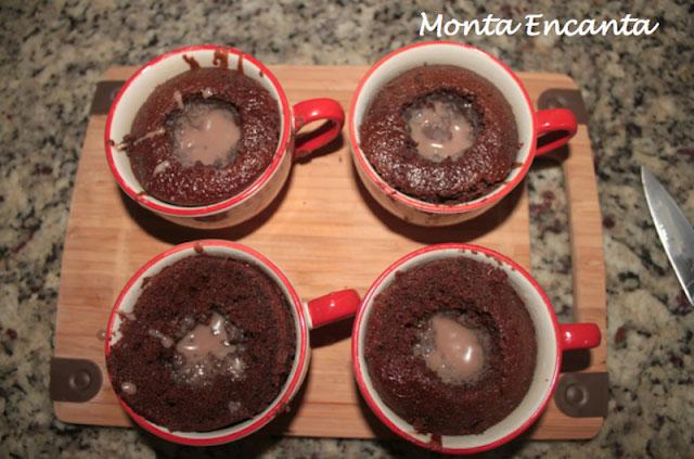 CupCake na Xicara Monta Encanta4