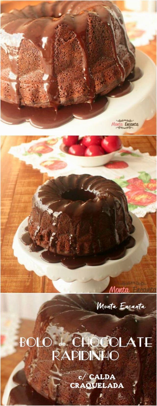 bolo de chocolate rapidinho