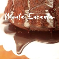 Calda de Chocolate Quebradinha, craquelada!