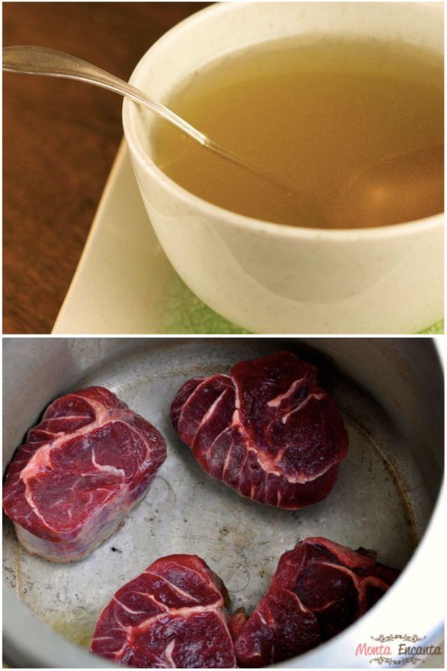Caldo de Carne prático