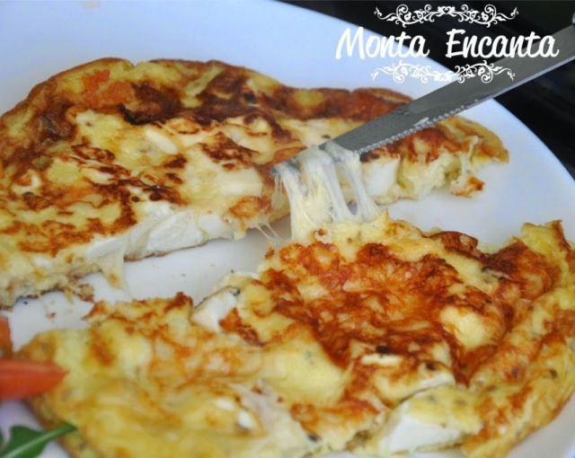 Omelete 4 Queijos
