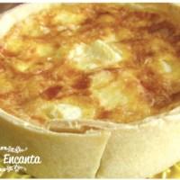 Quiche de Palmito, é saudável e muito gostosa!