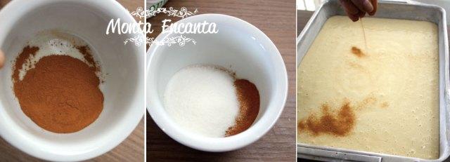bolo de iogurte com canela