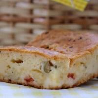 Torta de liquidificador sem glúten sem lactose