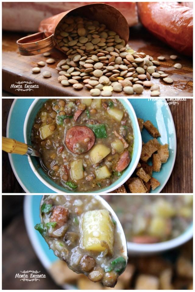 Sopa de Lentilha Rapidinha