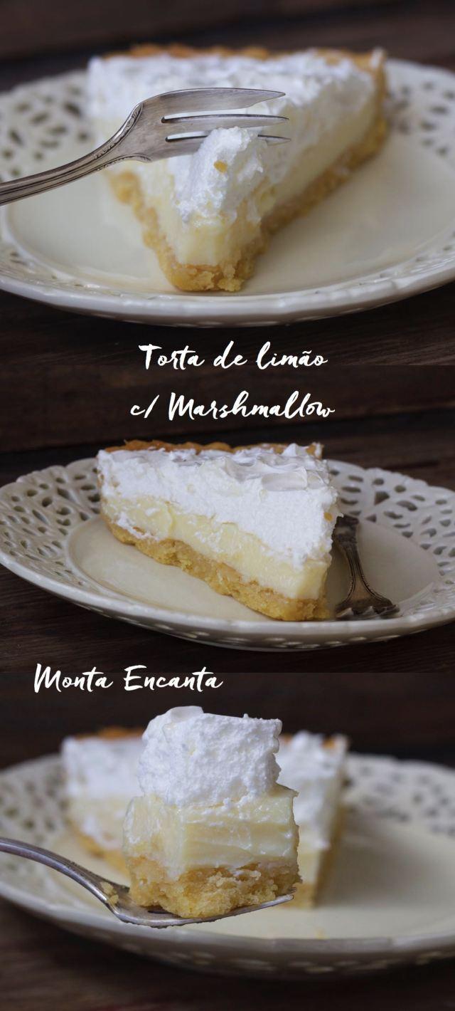 Melhor Torta de Limão com Marshmallow da vida!