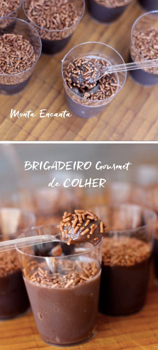 brigadeiro de colher gourmet