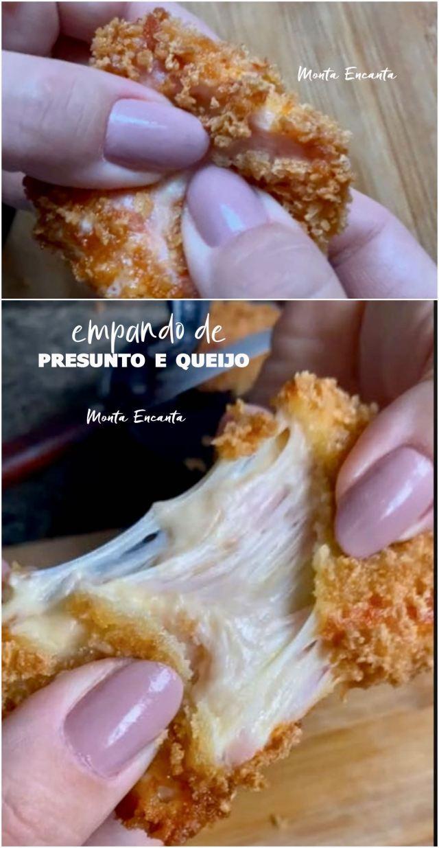 empanado de presunto e queijo
