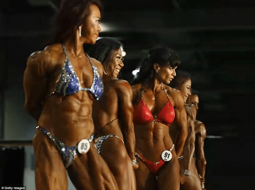Muscular Women Gather In Hong Kong For The Arnold Classic Muscle Building Competition Photos Montage Africa Magazine