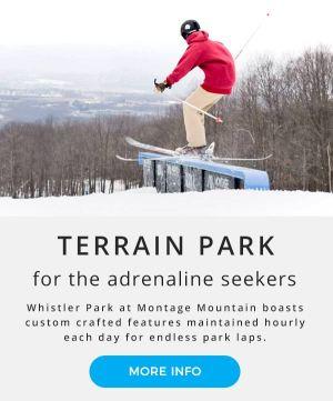 Terrain Park | Montage Mountain | Scranton Pennsylvania