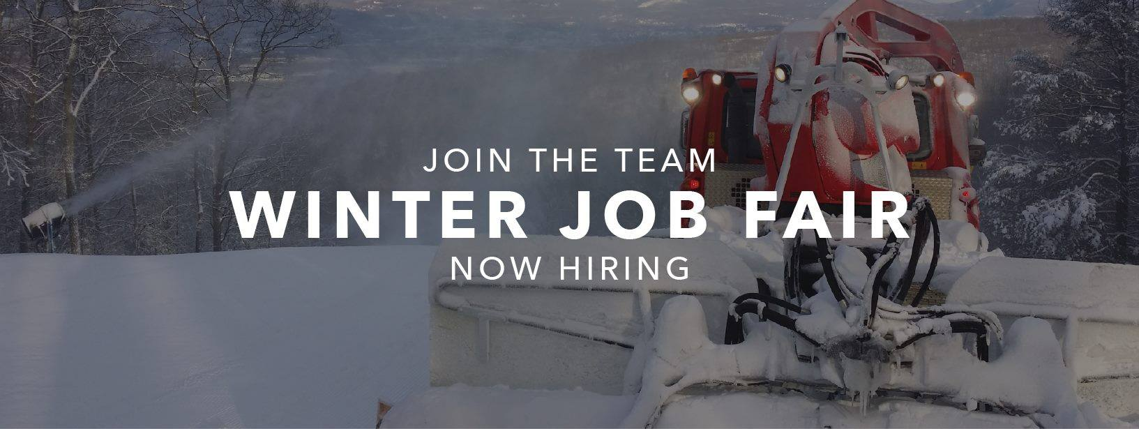 winter job fair pa ski resort skiing snowboarding pennsylvania jobs at montage mountain resorts