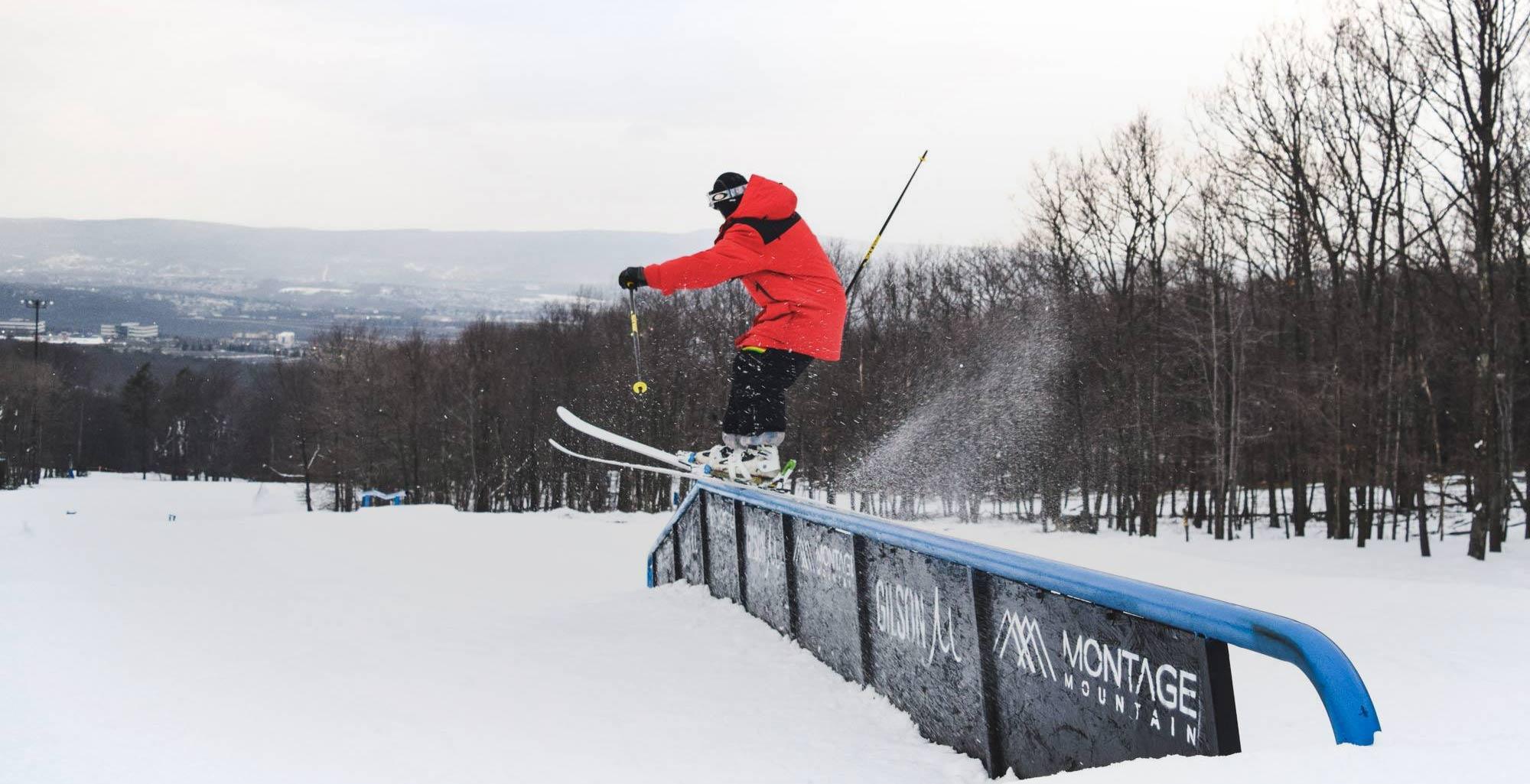 Terrain Park Pa Ski Resort Skiing Snowboarding
