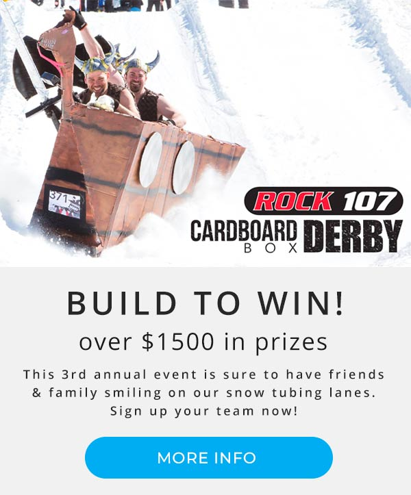 Rock 107 | Cardboard Box Derby | Montage Mountain Events