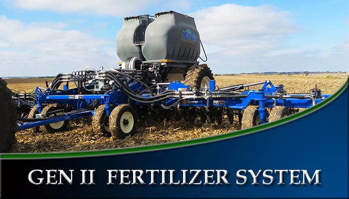 GEN II Fertilizer System - Montag Manufacturing, Inc