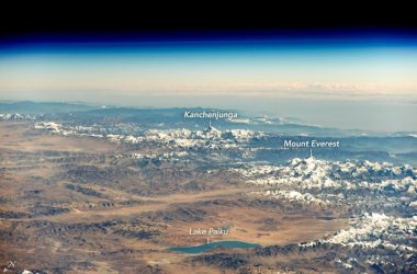 Nasa, ISS, Everest, Kanchenjunga, Himalaya