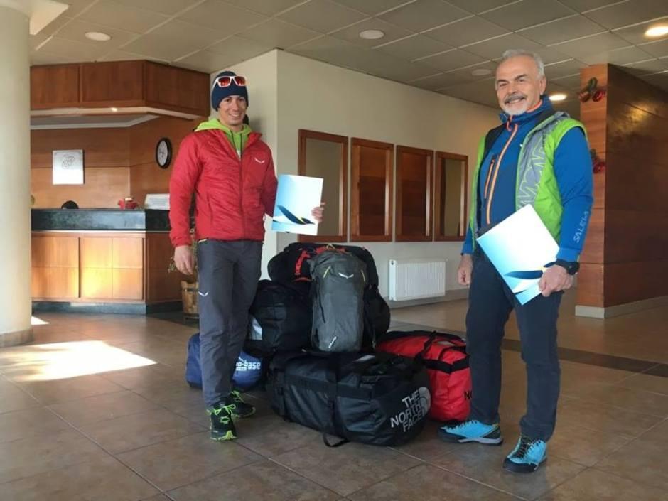 François Cazzanelli, Sergio Cirio, Marco Camandona, Maurizio Cheli, Vinson, Antartide, Everest