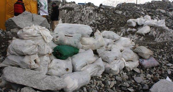 Everest, poo, toilette, rifiuti, tibet