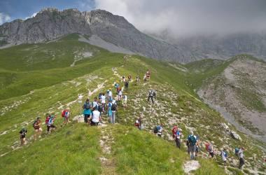 save the mountains, presolana, orobie, cai bergamo, guinness world record