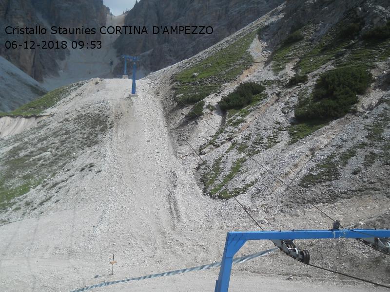 Monte Cristallo BL Veneto  Montagna Italia Webcams