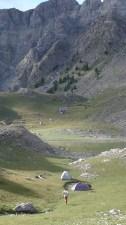 Bivouac au lac de l'Encombrette  - Mercantour