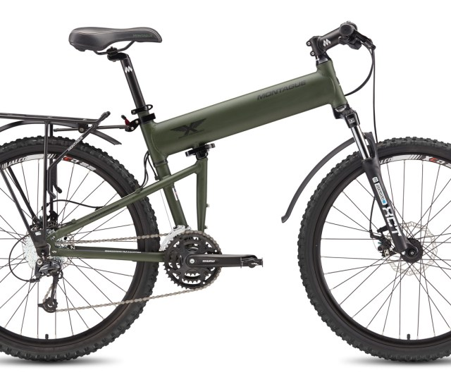 Montague Paratrooper Folding Bike Open