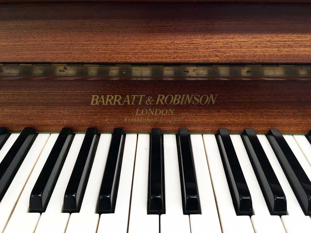 Barratt & Robinson Small Upright Piano
