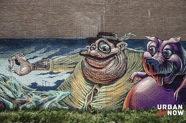 2014-05-30 Mural by Mr Zero - FatHeat - Boeki - TransOne - Team Budapest - web-10