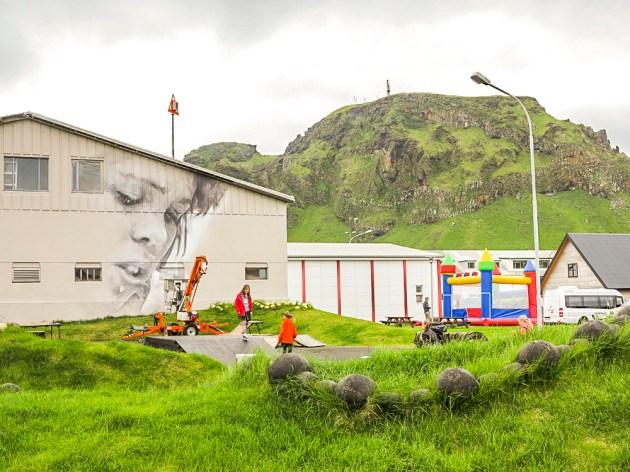 Guido Van Helten New Wall In Vestmannaeyjar-1