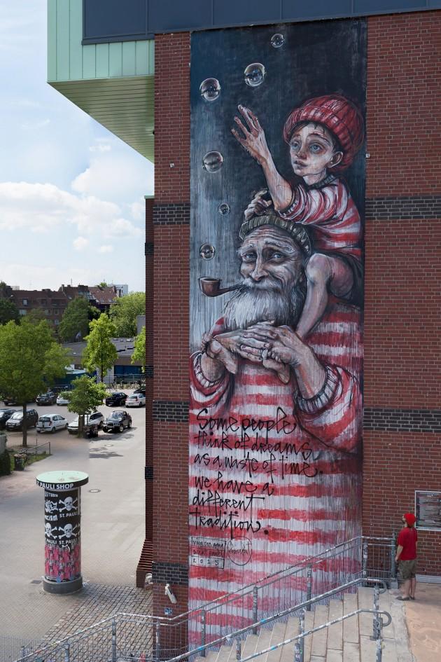 Herakut | Sankt Pauli – Millerntorgallery-12