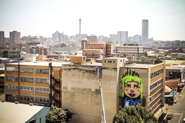 CITY OF GOLD Urban Art Festival in Johannesburg South Africa