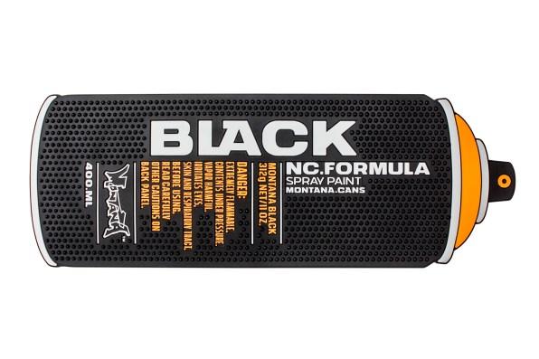 Montana Counter Mat - BLACK Can 44x15cm