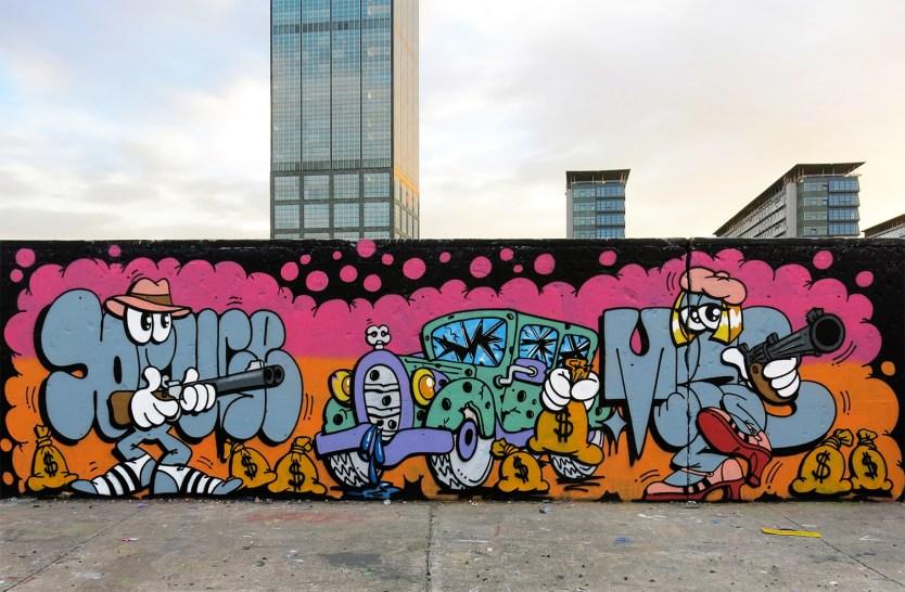 INTRODUCING GRAFFITI ARTIST DUO MINA BRUCE