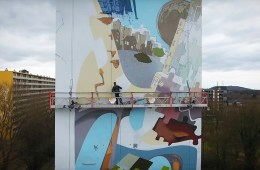 NEW MURAL BLOK-C KERKRADE NETHERLANDS ARTIST FISH