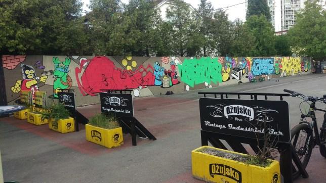 Graffiti Na Gradele Festival in Zagreb - Croatia