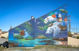 PangeaSeed Foundation Artists for Oceans Churchill Canada 2017