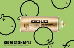 Montana GOLD color G6020 GREEN APPLE