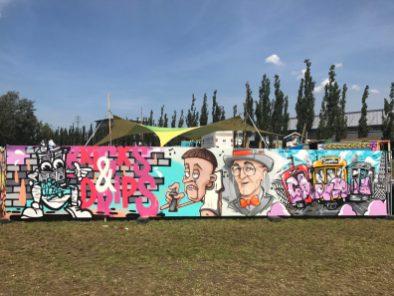 Spektrum 2017_Grossstatttraum Corner_Graffiti Jam_Ole Von Oepen F.D.Katz Stereoheat _ Canion Berlin